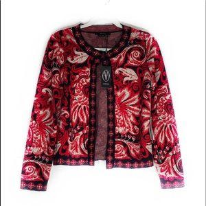 Vertigo Open Front Sweater
